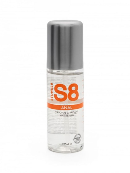 S8 - Waterbase Anal Lube 125ml